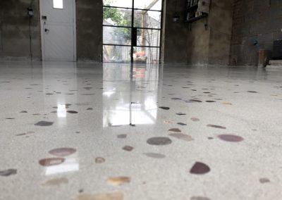 Bespoke 20mm aggregate floor (1)