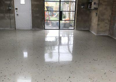 Bespoke 20mm aggregate floor (6)